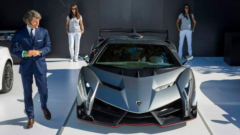 Lamborghini Intros the Veneno at the Quail