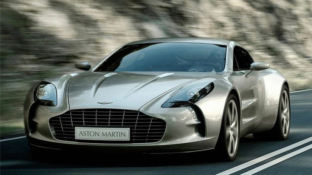 The Dubai Cops Are Getting A $1.4 Million Aston Martin One-77