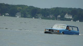 Our New Hero Made An Amphibious Volvo 240 Wagon