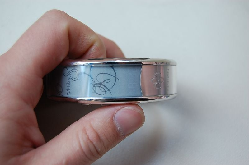 Seiko's E-Ink Spectrum Watch: Hands-on, Video & Gallery