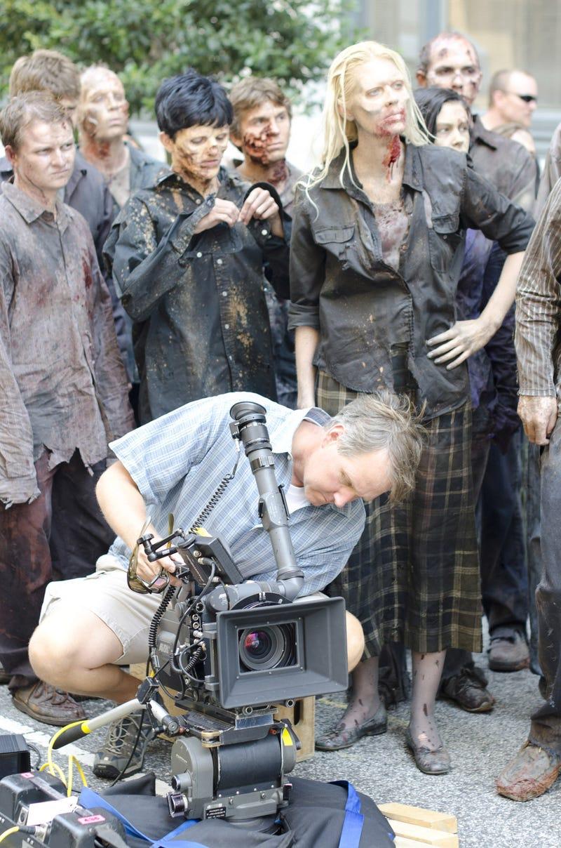 "Walking Dead Season 2 Episode 1 ""Miles Behind Us"" set pics"