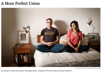 NY Times Writer Takes On Marriage, Pig Ears.