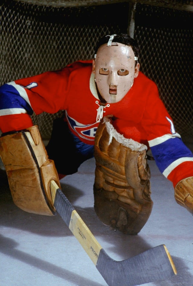 A Prayer For Jacques Plante's Busted Schnoz