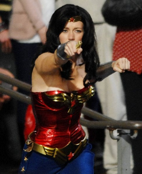 Wonder Woman Set Pictures