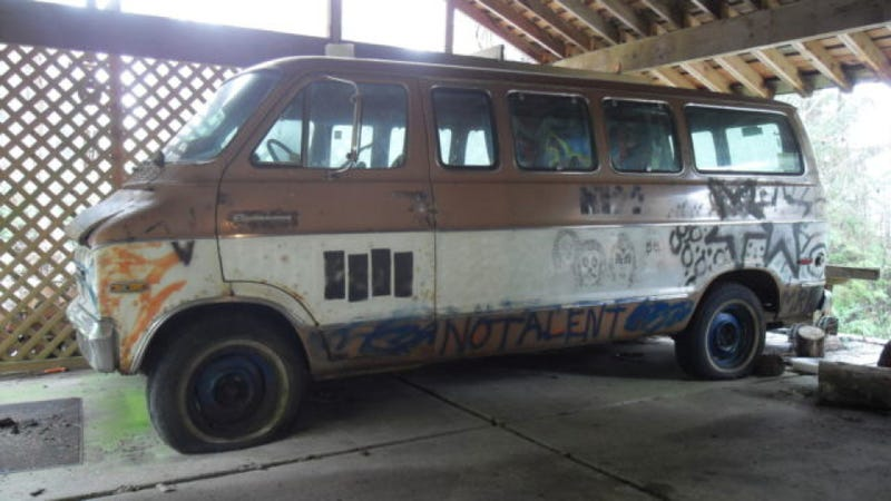 You Can Buy The Van That Kurt Cobain Scribbled On For $100,000