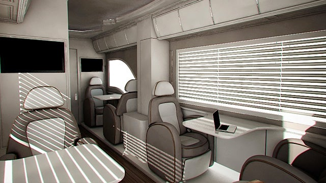 Marchi Mobile's eleMMent Motor Coaches Combine Modern Luxuries With 1950s Design