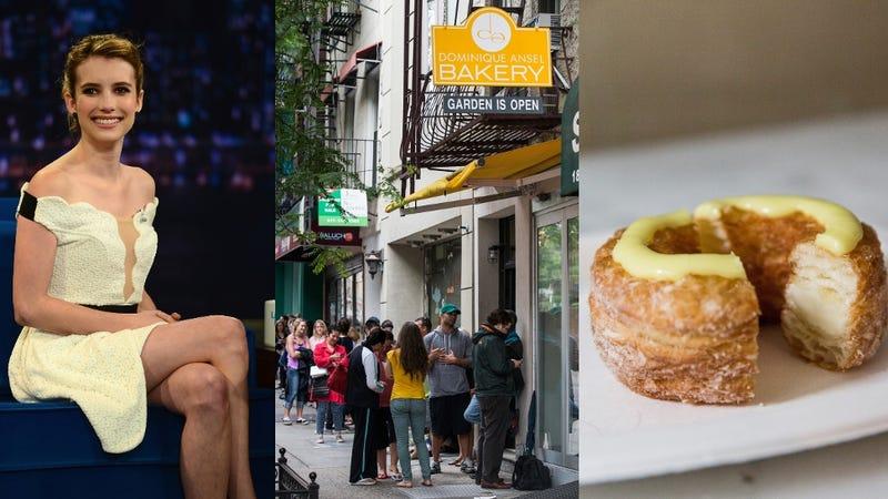 Emma Roberts Tries to Cut Cronut Line, Gets Shut Down