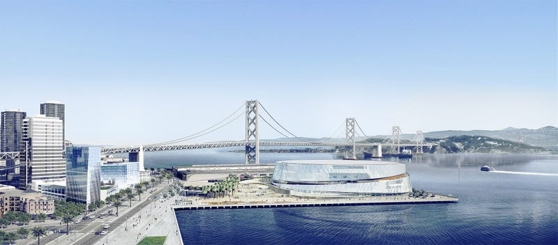 You'll Be Able To See The Bay Bridge From Inside The Warriors' New Arena