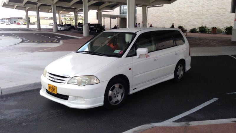 The Second Gen Honda Odyssey Was Way Cooler Outside The US