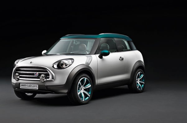 Mini Reveals Crossover Concept, Takes Brand Off-Road For First Time