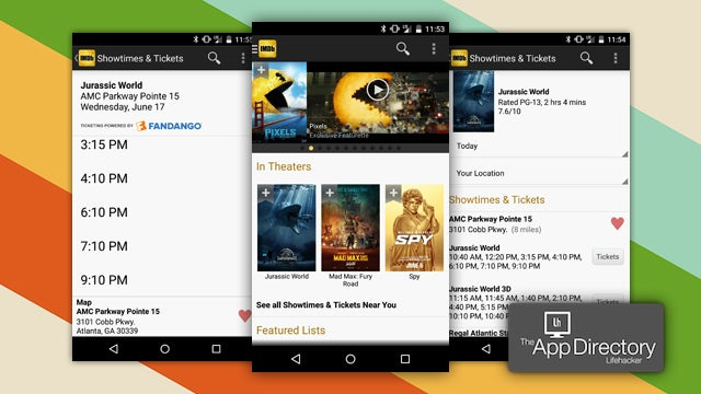 The Best Movie Showtimes App for Android