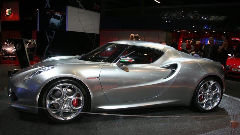 Alfa Romeo 4C concept gallery