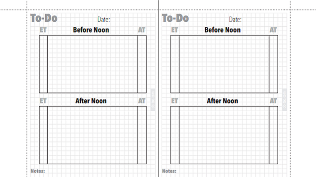 This Printable To-Do Template Shows How Long Those Tasks Really Take