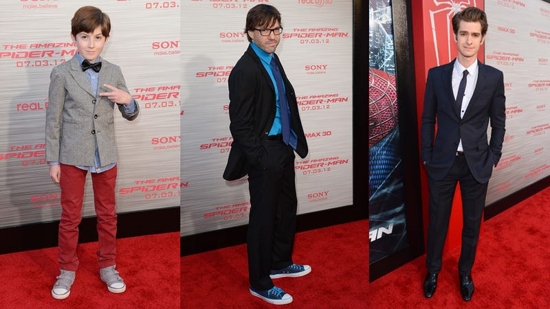 Not-So-Amazing Looks at The Amazing Spider-Man Premiere