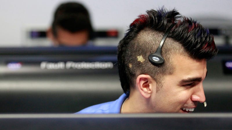 We've Landed a Rover on Mars, But All Anyone's Talking About Is This Guy's Mohawk