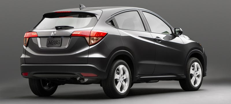 2015 Honda HR-V Is A Sleek Compact Car With A Lift Kit