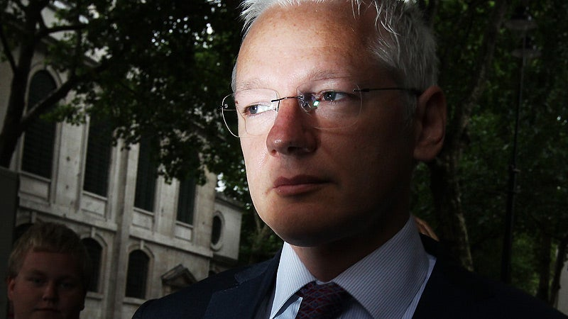 Julian Assange Accidentally Uploaded His Secret Files to the Internet