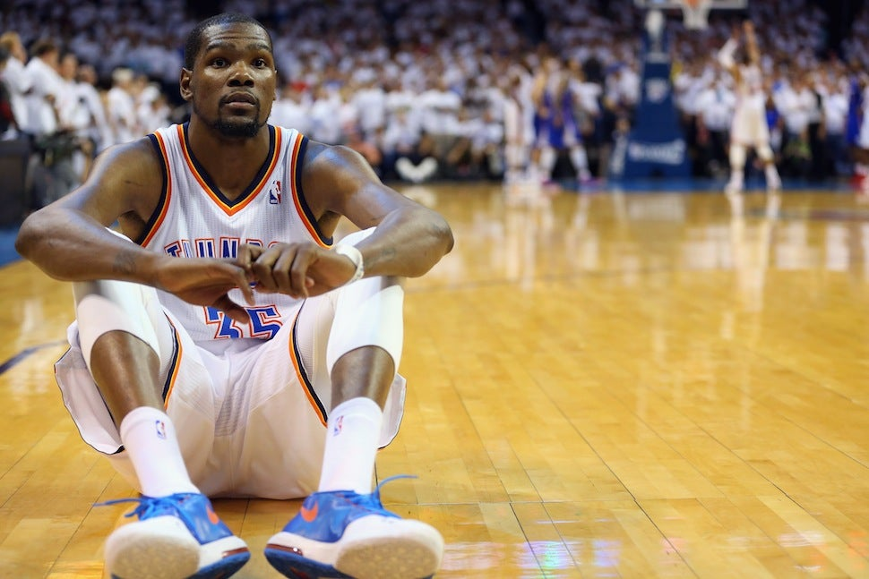 Kevin Durant Couldn't Bear To Watch Russell Westbrook's Free Throws