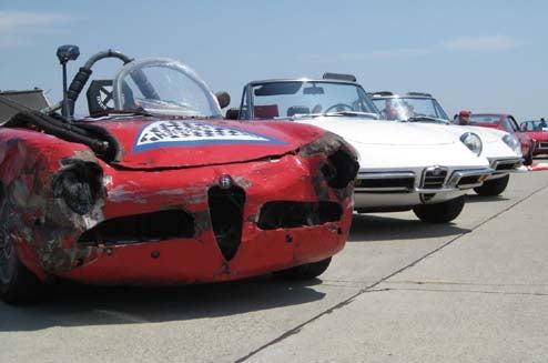 Ecurie Ecrappe Alfa Makes Big Splash At Concorso Italiano, Some Shiny Cars Also Show Up