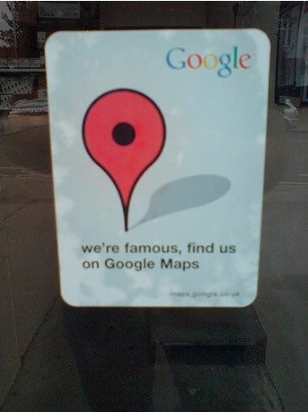 Is Google Using Pilfered Maps?