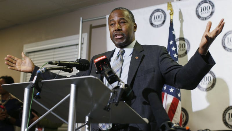 Ben Carson's Campaign Admits He Lied About Being Offered a West Point Scholarship