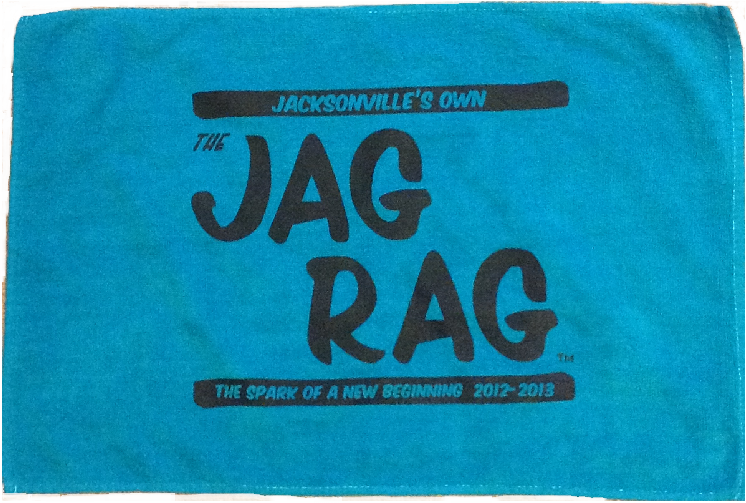 The Jacksonville Jaguars Now Have Their Own Version Of The Terrible Towel, And It Is Called The Jag Rag