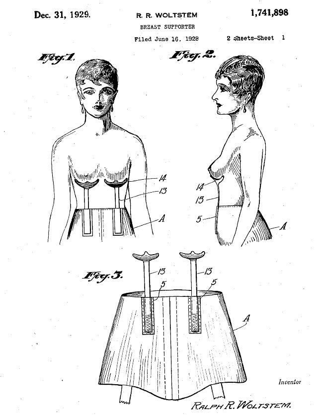 Behold Super Olde-Tymey Brassiere Devices
