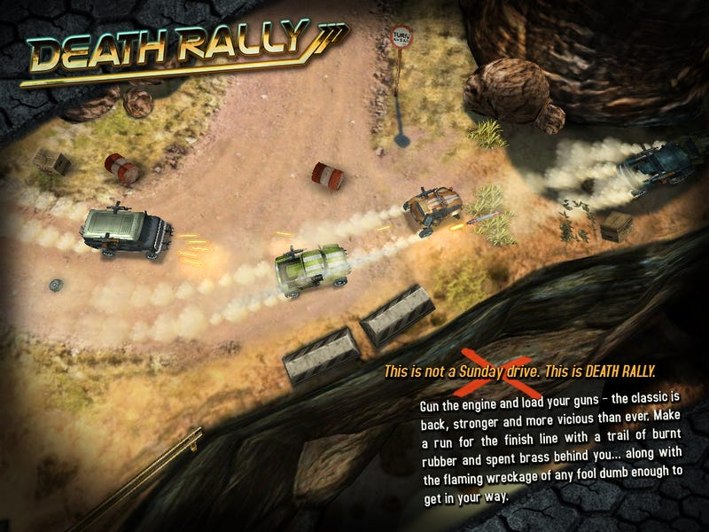 Death Rally's Return Remains a Must Play