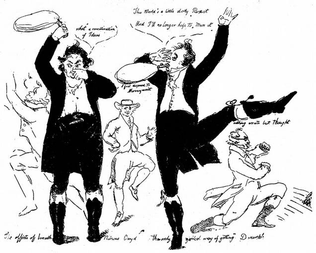 When 18th Century Scientists Got Everybody Wasted on Nitrous Oxide