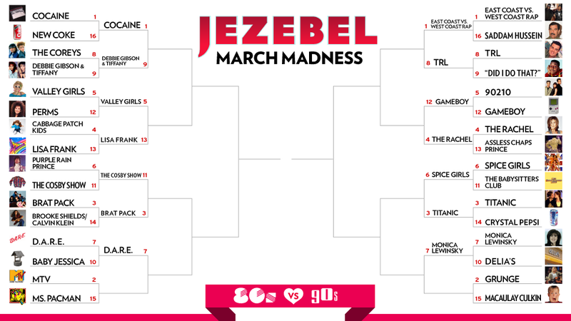March Madness Day 8: I Want My MTV to Smell Like Teen Spirit