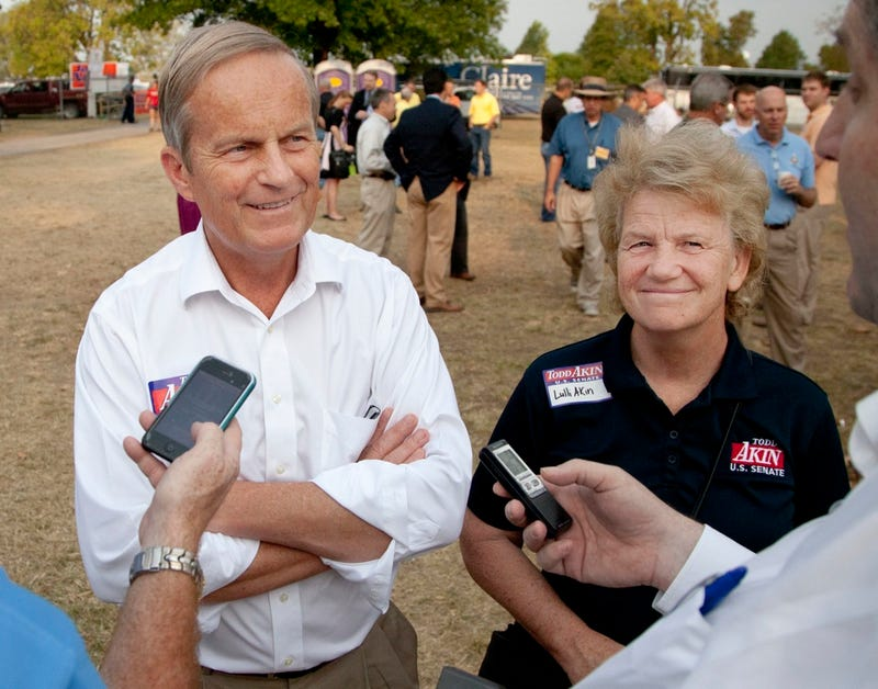 Todd Akin Says He Knows He's Winning Because His Female Opponent Is Getting Less 'Ladylike'