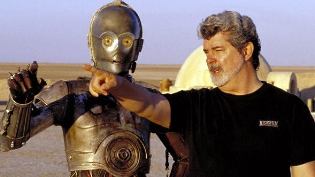 No, George Lucas does not have 50 hours of a live-action Star Wars TV show in the can