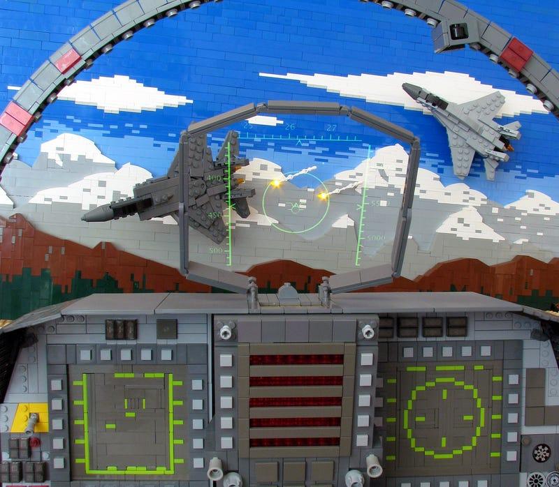 Lego F-15 Hunting Down MiG-29s