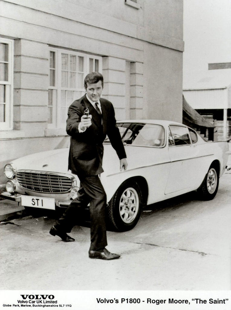 Roger Moore's Volvo From The Saint Restored From Near Death