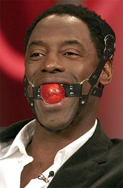 Isaiah Washington Needs To Stick A Sock — Or Some Other Implement — In It