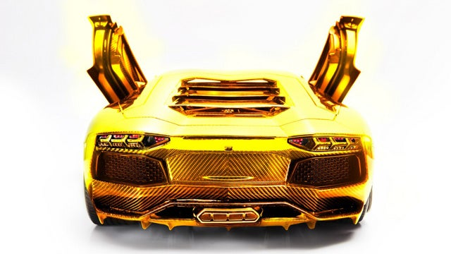 $4.72 million 1/8 scale Lamborghini Aventador model headed to auction