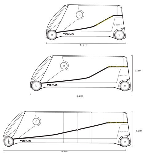 Taxi Tokyo Concept Merges Bus With Taxi
