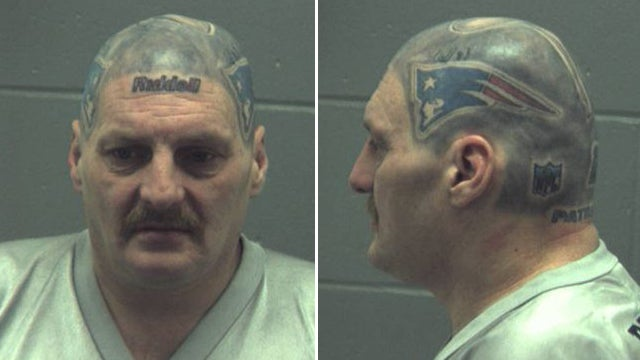 An Interview With The Fan Who Got His Bald Head Tattooed To Look Like A Patriots Helmet (And Who Is Now In Jail)