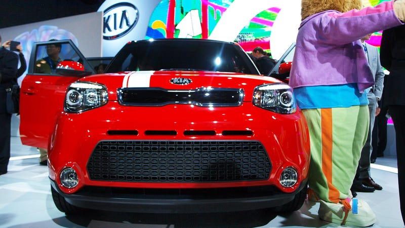 The New Kia Soul's Headights Don't Suck