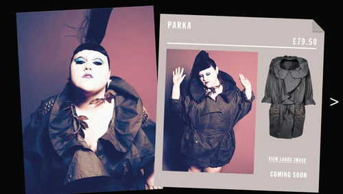 Beth Ditto's Latest Collection For Evans Is Black & White & Awesome
