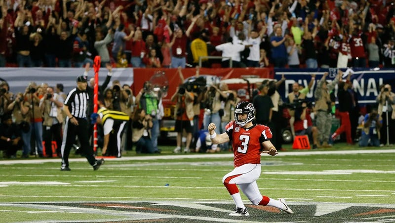 "Matt Bryant Went To His ""Happy Place"" Before His Game-Winning Kick"