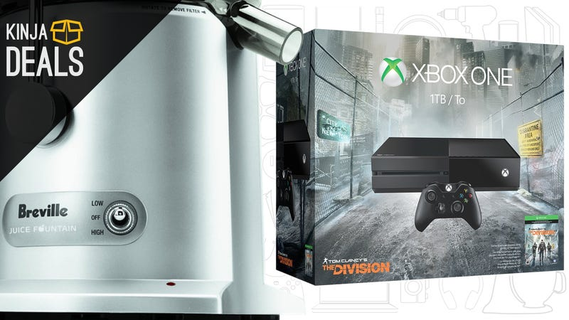 "Sunday's Best Deals: Breville Juicers, Activewear, Xbox One ""Price Drop"""