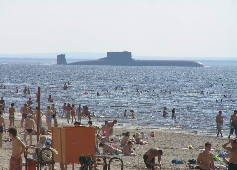 The Massive Soviet Sub That Inspired 'Hunt For Red October'