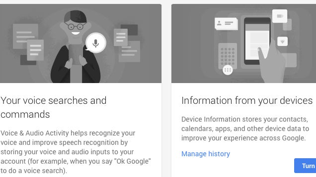 Google Introduces History for Voice and Mobile Search, Opt Out Here