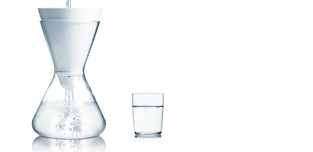 A Water Filter You Won't Be Ashamed to Leave on the Dinner Table