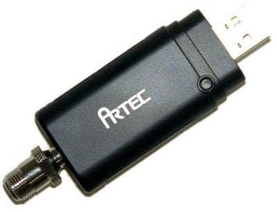 Artec T14A USB TV Tuner: HDTV on a Laptop