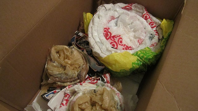 Use Plastic Grocery Bags to Pack Away Fragile Items