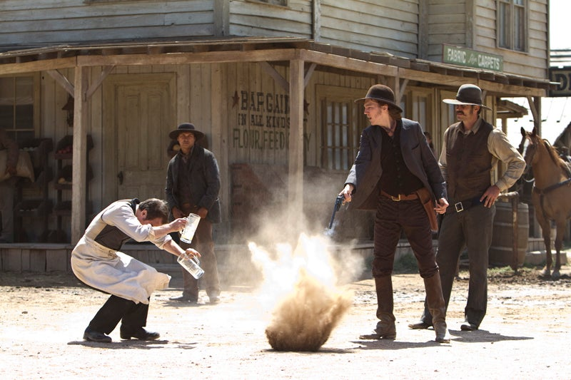 Cowboys and Aliens publicity photos