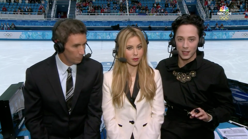 For the Tenth Day in a Row, Johnny Weir Woke Up Flawless