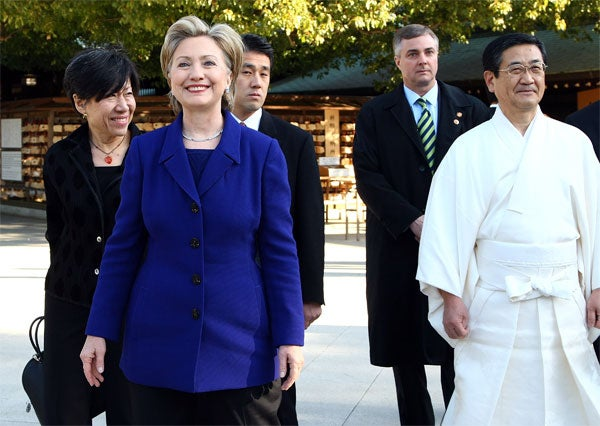 Hillary Is Pulling U.S. Foreign Policy Out Of The Shadows